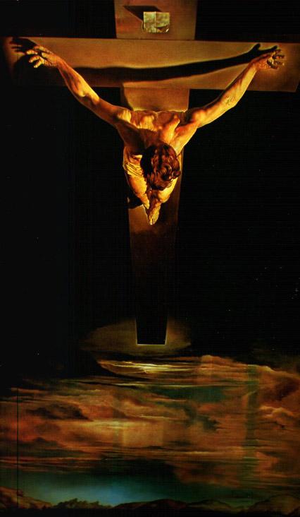 croix avec flamme